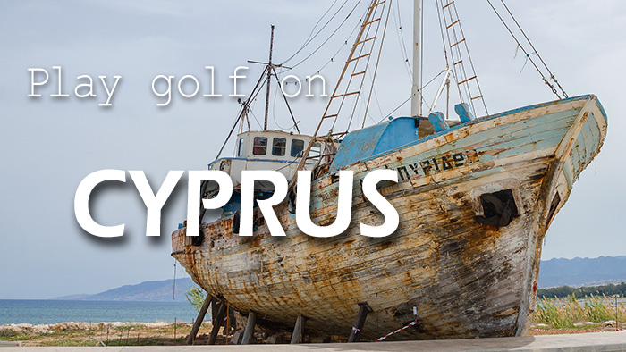 Play golf on Cyprus
