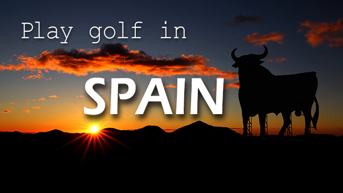 Play golf in Spain