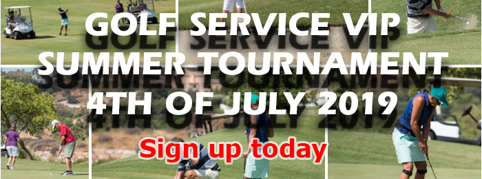 Golf Service Summer Tournament 4th of July 2019