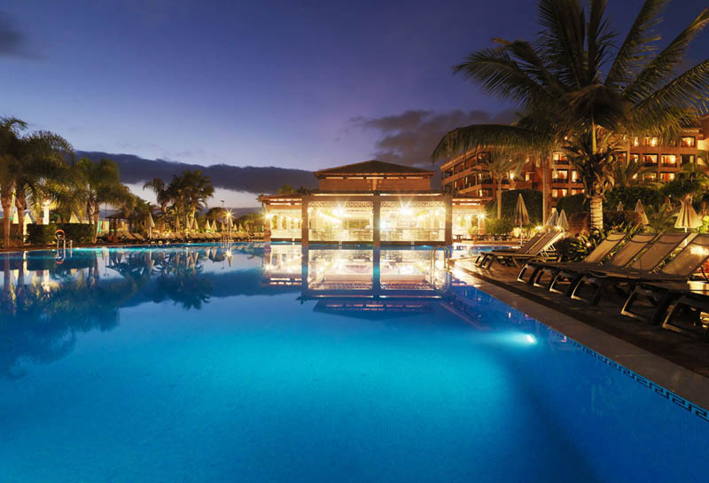 H10 Costa Adeje Palace Night view of the hotel (3)