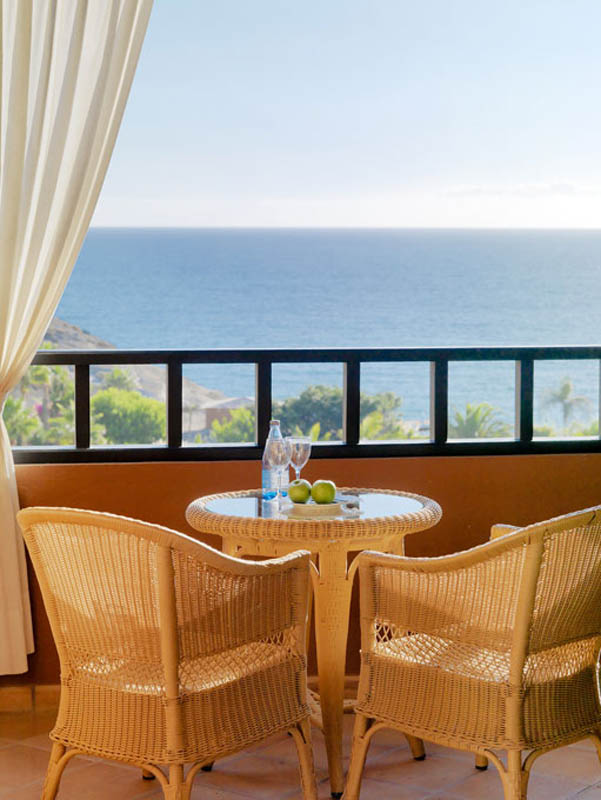H10 Costa Adeje Palace Sea views from the terrace of the Double Room Sea View