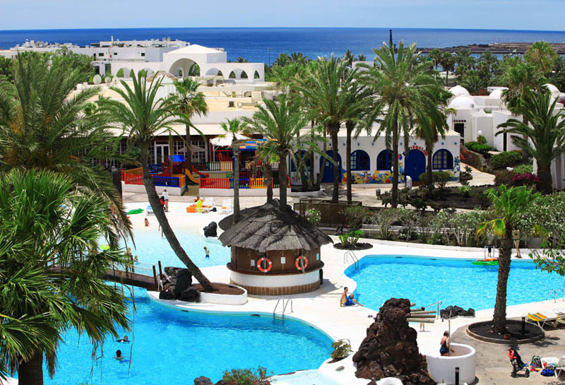 H10 Lanzarote Gardens Apart Hotel Panoramic View Of The