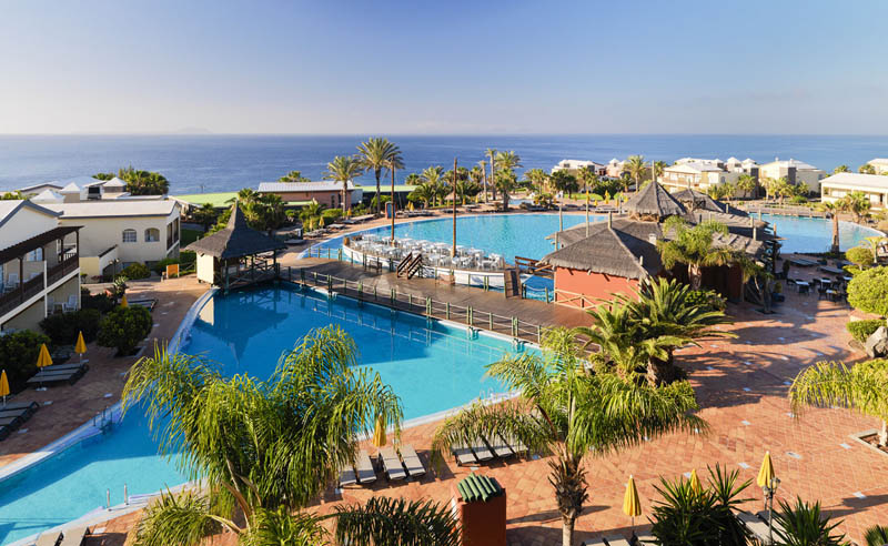 H10 Rubicon Palace Hotel Panoramic View Of The Swimming Pools