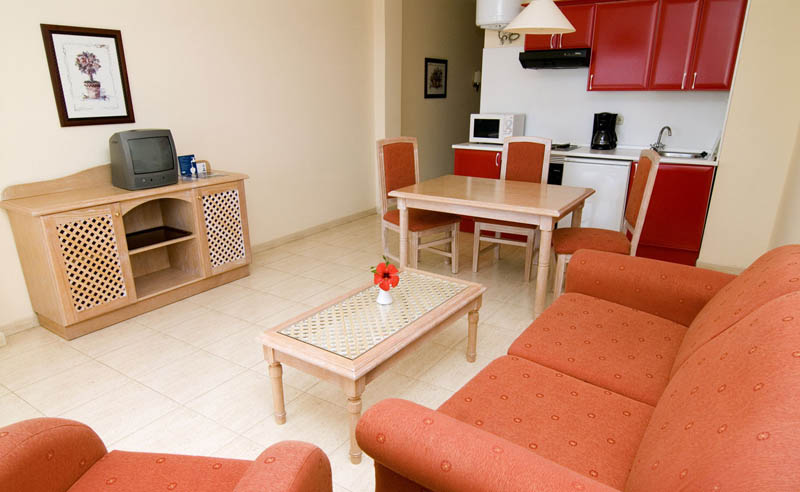 H10 Costa Salinas Apartment with lounge, bedroom, bathroom and kitchen (2)