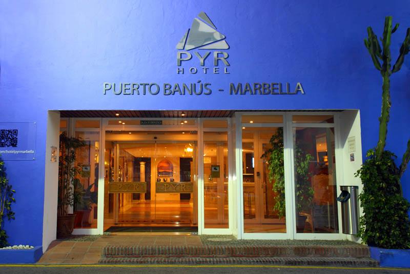 Book pyr puerto banus hotel in marbella malaga andalucia - Hotel pyr puerto banus ...