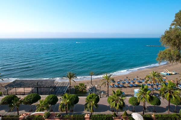 fuerte hotel marbella sea view